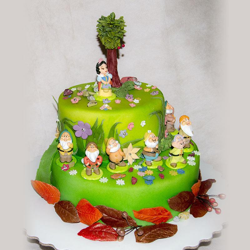 Фото тортов с гномами