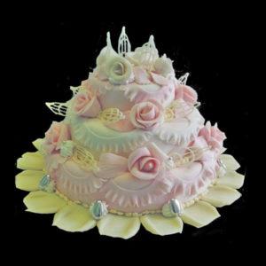 Свадебный розы и шоколад