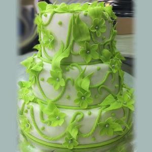 Свадебный салатовый