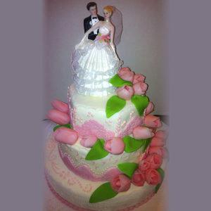 Свадебный с тюльпанами №1