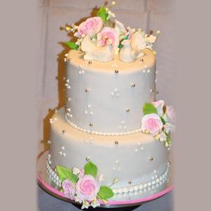 Торт голуби