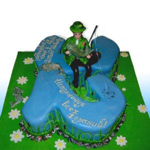 Торт муж- рыбак