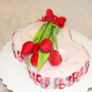 8 марта розовый