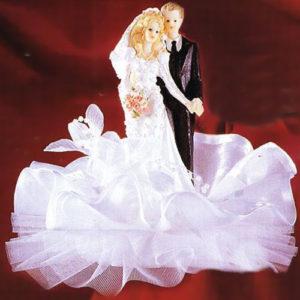 Фигурка свадебная Невеста с букетом